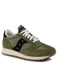Zielone sneakersy Saucony