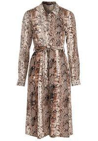 Sukienka Happy Holly szmizjerki, elegancka, na co dzień