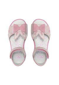 RenBut - Sandały RENBUT - 21-3364 Róż. Kolor: różowy. Materiał: skóra, zamsz