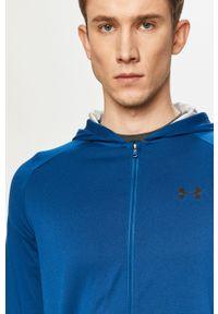 Niebieska bluza rozpinana Under Armour casualowa, na co dzień, bez kaptura