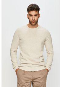 Szary sweter s.Oliver z długim rękawem, na co dzień, casualowy, długi