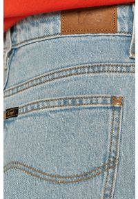 Niebieskie jeansy loose fit Lee