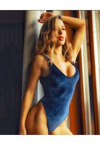 MISSION SWIM - Jednoczęściowy strój Courtney. Kolor: niebieski. Materiał: tkanina, materiał #5