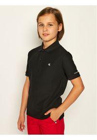 Czarny t-shirt polo Calvin Klein Jeans polo