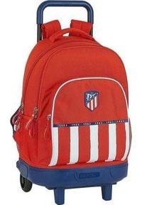 Atletico Torba szkolna z kółkami Compact Atltico Madrid 20/21 Niebieski Biały Czerwony. Kolor: niebieski, biały, wielokolorowy, czerwony