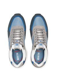 Big-Star - Sneakersy BIG STAR - HH174136 Navy. Okazja: na co dzień. Kolor: niebieski. Materiał: skóra, zamsz, materiał. Szerokość cholewki: normalna