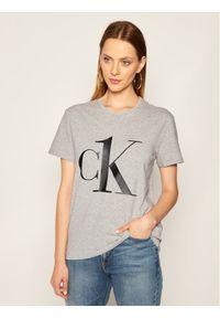 Calvin Klein Underwear T-Shirt Crew Neck 000QS6436E Szary Regular Fit. Kolor: szary