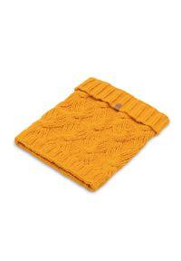 Pomarańczowy szalik PaMaMi