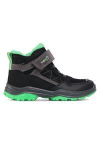Szare buty zimowe Superdry