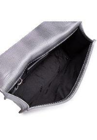 Srebrna torebka klasyczna Tommy Jeans skórzana