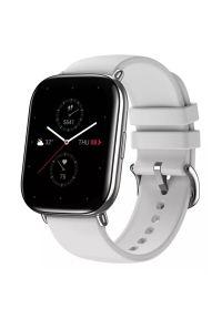 Szary zegarek AMAZFIT smartwatch, sportowy