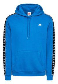 Kappa Bluza Igon 309043 Niebieski Regular Fit. Kolor: niebieski