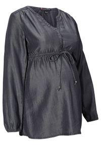Czarna bluzka bonprix moda ciążowa