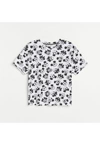 Reserved - Bawełniany t-shirt Myszka Miki - Wielobarwny. Materiał: bawełna