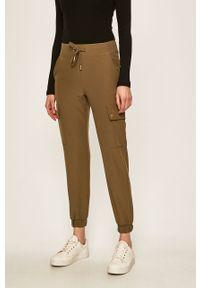 Zielone spodnie materiałowe only