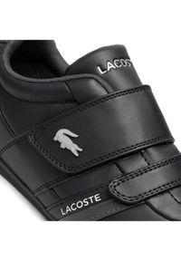 Lacoste Sneakersy Misano Strap 0721 1 Cma 7-41CMA004502H Czarny. Kolor: czarny
