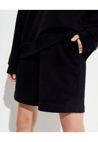 NANUSHKA - Czarne bawełniane spodenki Doxxi. Kolor: czarny. Materiał: bawełna. Styl: klasyczny