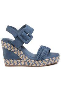 Niebieskie sandały Xti casualowe, na co dzień