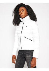 Biała kurtka zimowa Calvin Klein Jeans