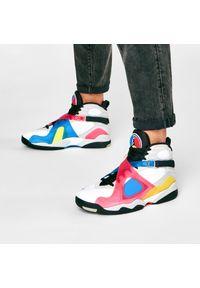 Białe sneakersy Nike na co dzień, z cholewką