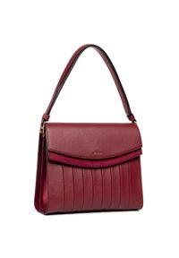 Czerwona torebka klasyczna Marella