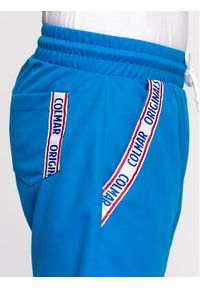 Niebieskie spodenki sportowe Colmar