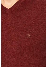 Fioletowy sweter Izod na co dzień, casualowy