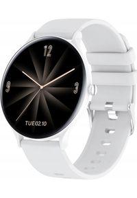 Biały zegarek ZAXER smartwatch