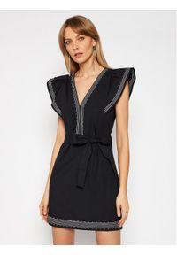 Czarna sukienka TwinSet casualowa, na co dzień