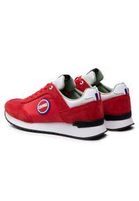 Colmar - Sneakersy COLMAR - Travis Bold 132 Red/White. Okazja: na co dzień. Kolor: czerwony. Materiał: skóra, materiał, zamsz. Szerokość cholewki: normalna. Styl: klasyczny, casual