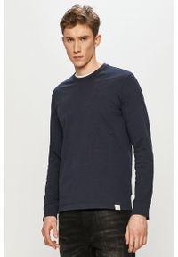Only & Sons - Bluza bawełniana. Okazja: na co dzień. Kolor: niebieski. Materiał: bawełna. Wzór: gładki. Styl: casual