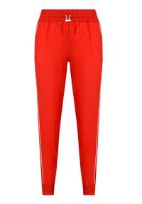 Czerwone spodnie dresowe Patrizia Pepe