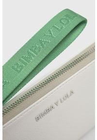 Biały portfel Bimba y Lola gładki