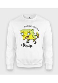 MegaKoszulki - Bluza klasyczna Spongebob + personalizacja. Styl: klasyczny