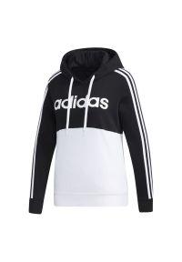 Bluza z kapturem Adidas wizytowa, w kolorowe wzory, na co dzień