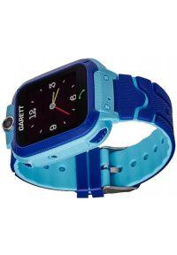 Niebieski zegarek GARETT smartwatch, młodzieżowy