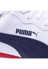 Białe półbuty Puma na co dzień, casualowe, z cholewką #7