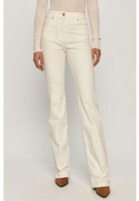Białe jeansy Stefanel klasyczne