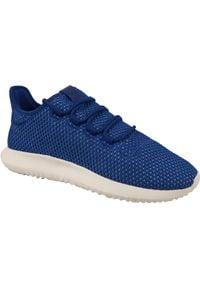 Niebieskie sneakersy Adidas Adidas Tubular, z cholewką