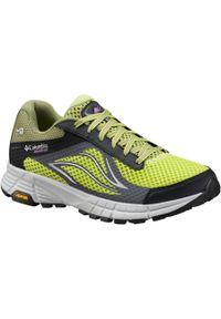 Zielone buty do biegania columbia