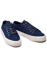 vagabond - Tenisówki VAGABOND - Teddie M 5181-080-64 Dk Blue. Kolor: niebieski. Materiał: materiał. Szerokość cholewki: normalna