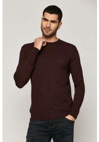 medicine - Medicine - Sweter Basic. Okazja: na co dzień. Kolor: czerwony. Długość rękawa: długi rękaw. Długość: długie. Styl: casual