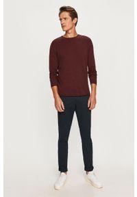 Brązowy sweter Selected casualowy, na co dzień
