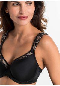 Czarny biustonosz bonprix do noszenia na różne sposoby