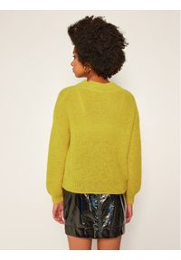 Żółty sweter klasyczny iBlues