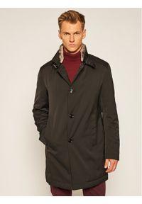 Czarny płaszcz zimowy JOOP!