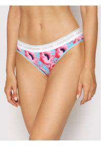 Calvin Klein Underwear Figi klasyczne 000QF5735E Niebieski. Kolor: niebieski
