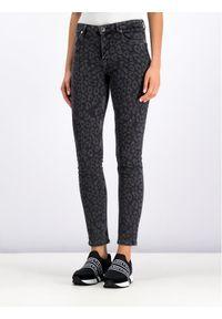 Czarne jeansy slim Silvian Heach