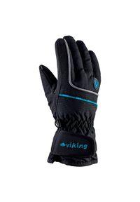 Rękawice narciarskie Viking Kevin 120112255. Materiał: włókno, materiał, syntetyk. Technologia: Thinsulate. Sezon: zima. Sport: narciarstwo