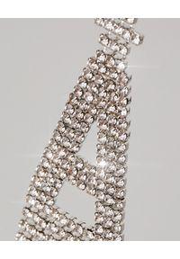 RETROFETE - Kolczyk z cyrkoniami A. Materiał: srebrne. Kolor: srebrny. Kamień szlachetny: cyrkonia